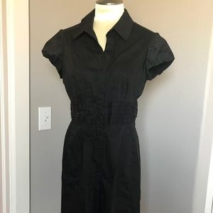 LOFT black dress, size 10 petite